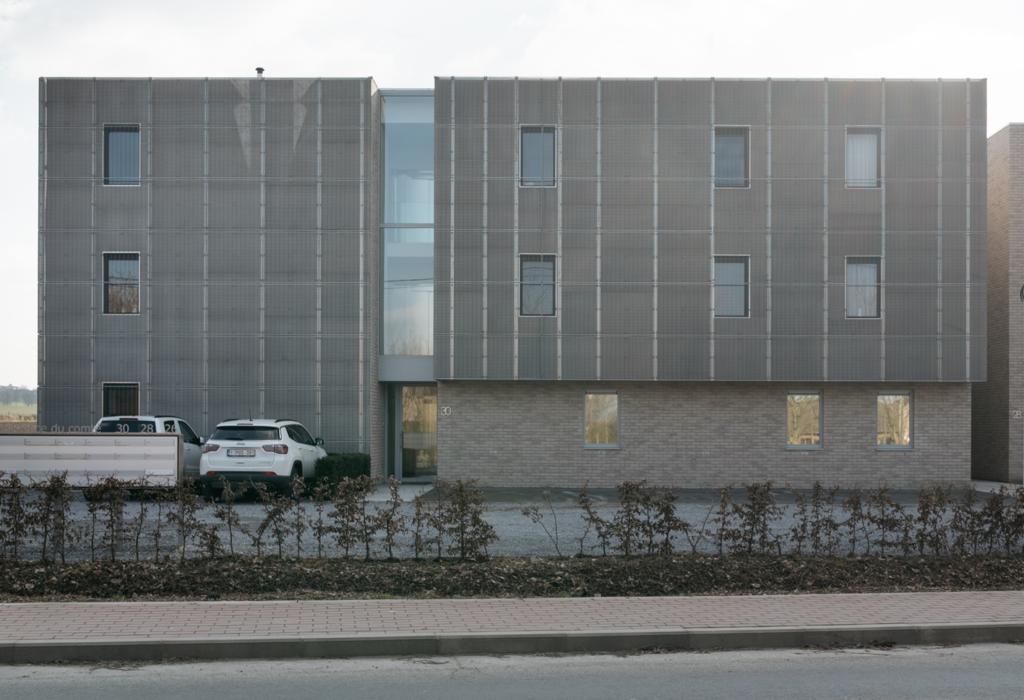 immobilier façade brique