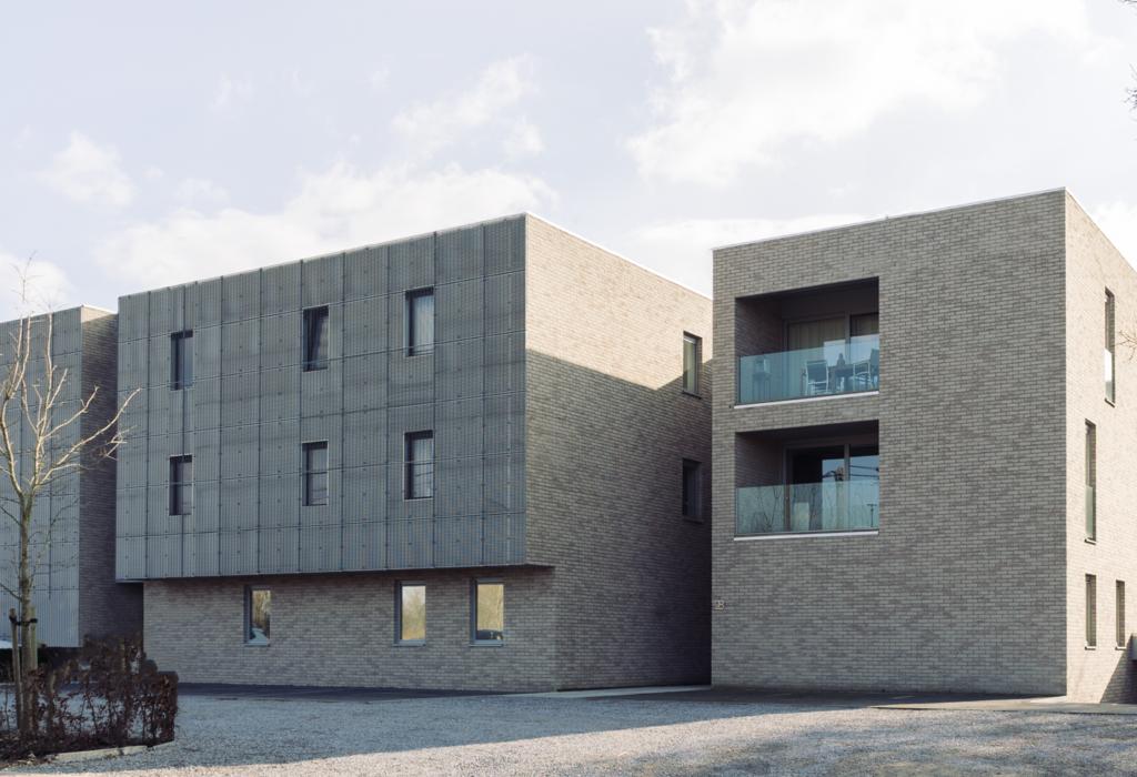 résidence façade terrasse