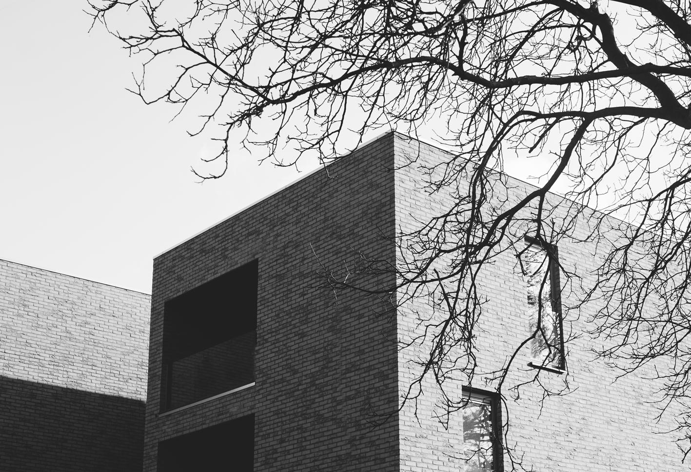 immeuble façade toit angles