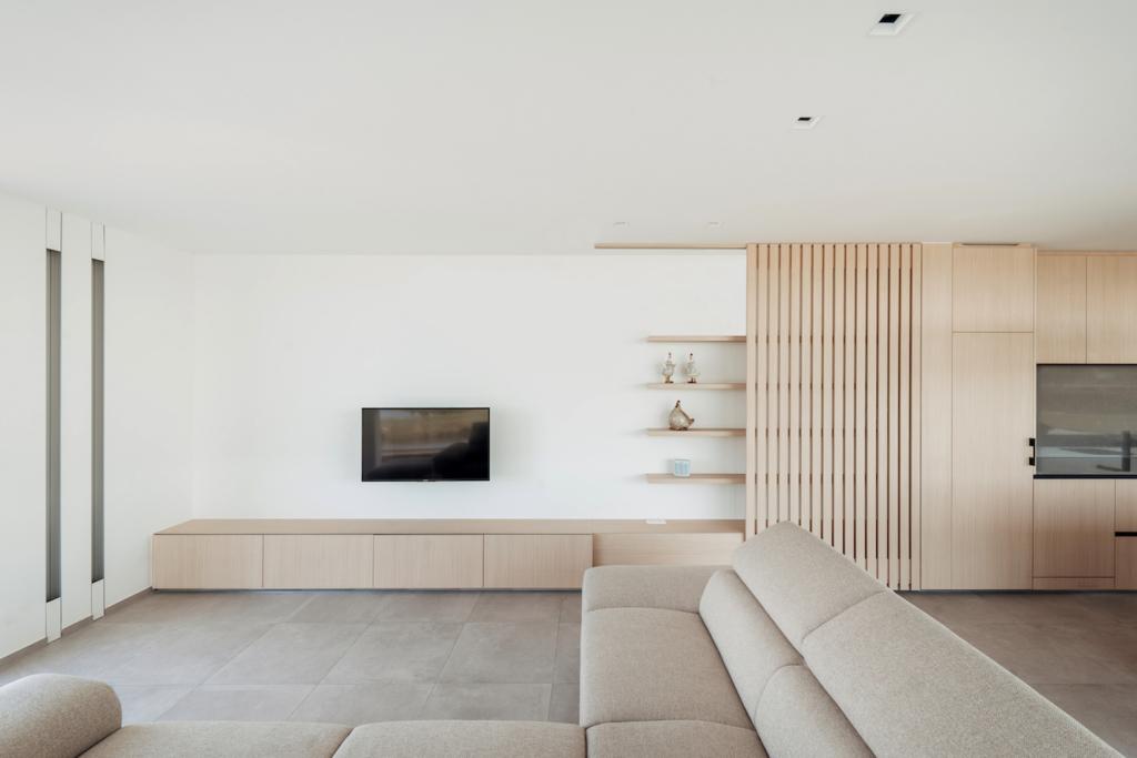 appartement salon architecture canapé